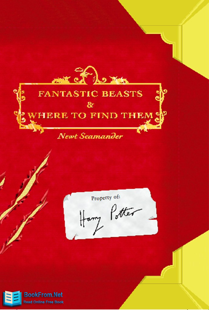 Read Fantastic Beasts And Where To Find Them Online Read Free Novel Read Light Novel Onlinereadfreenovel Com